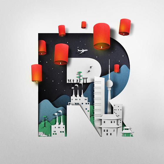 Amazing Paper Illustrations