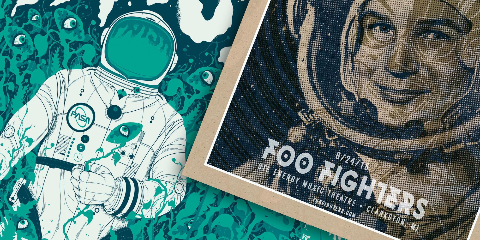 Gig Poster Design Inspiration