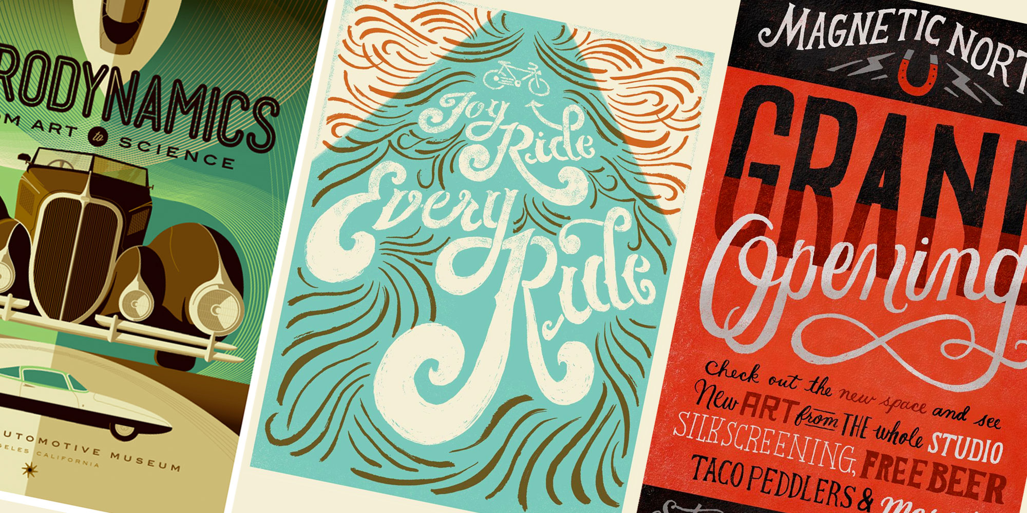 Typography Poster Designs