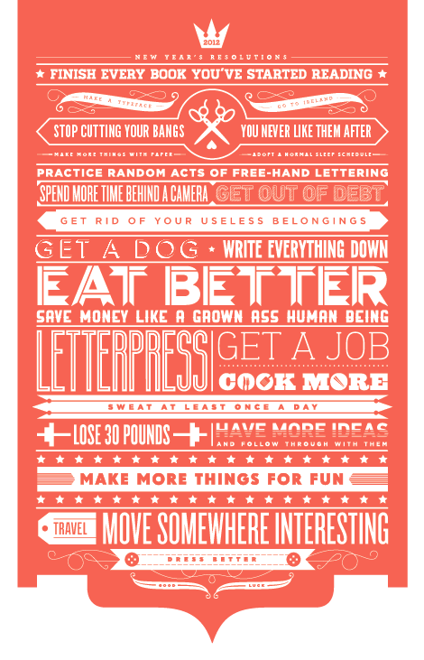 Inspiring Typography Posters