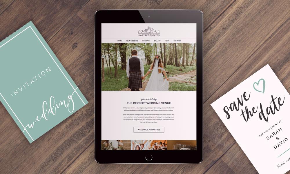 Website Design for wedding venue