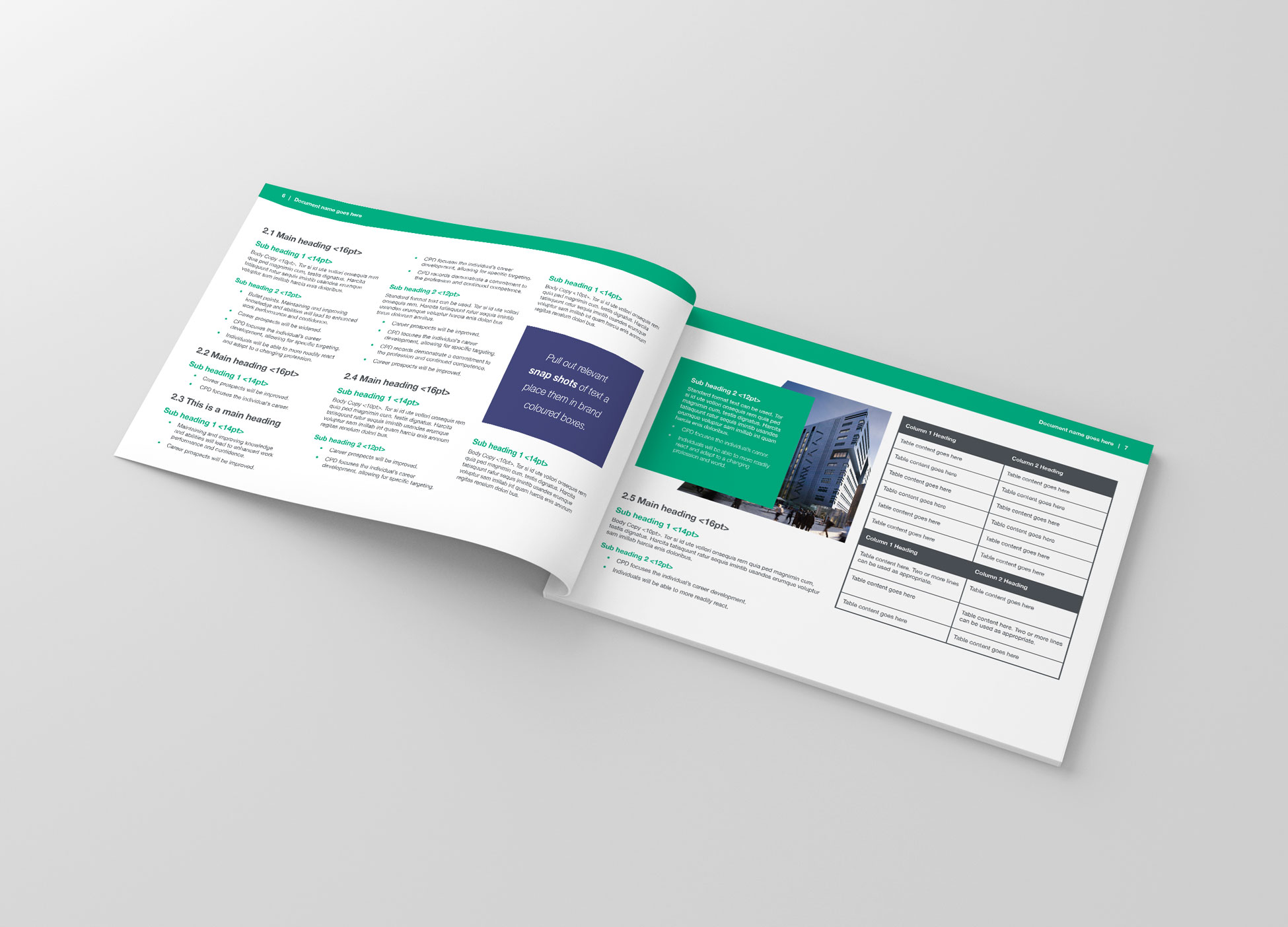 IStructe Brochure Design