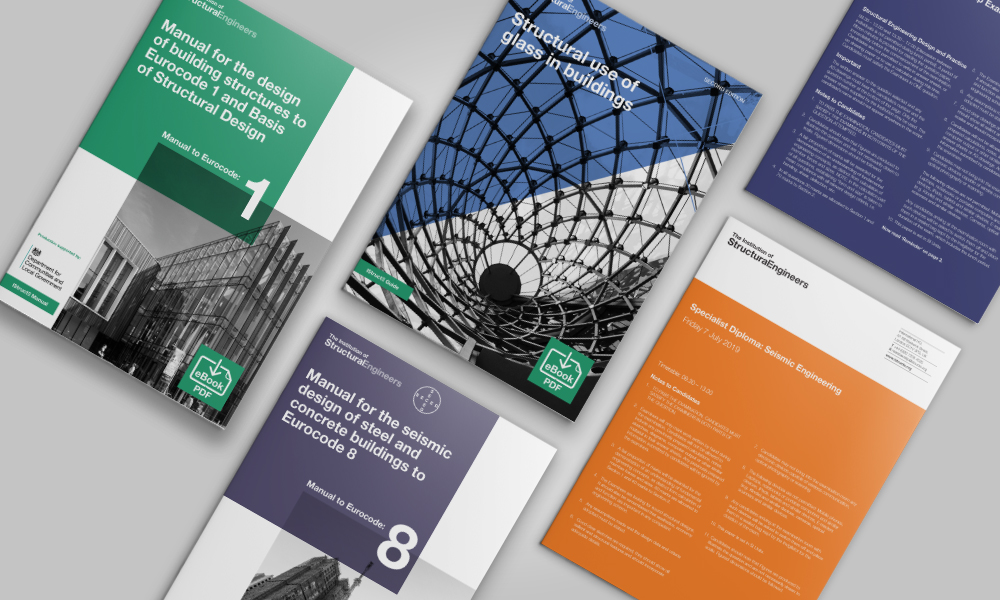 Graphic design for The Institution of Structural Engineers